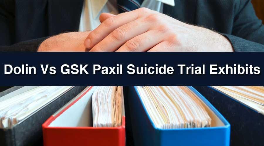 Paxil Trial Exhibits