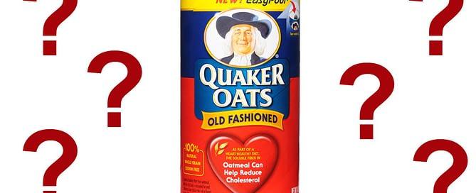 Quaker Oats Glyphosate