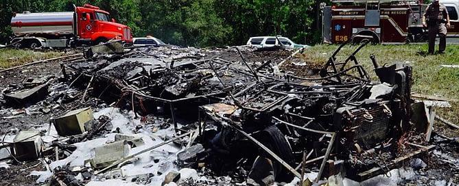 Micanopy truck crash