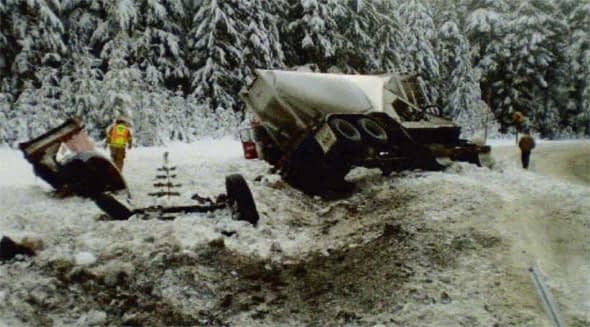Oregon truck crash